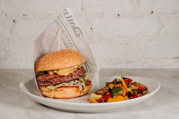 Chianina Burger con Verdure Al Forno