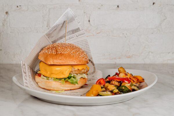 Rosita Burger con Verdure al Forno